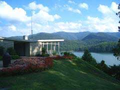 Watauga Lake Dam Visitors Center - Photo Copyright 2006 Erin E. Raub